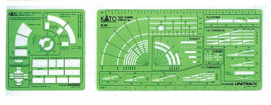 Track Template Unitrack Kato 20901 – Kato Engine Diagram