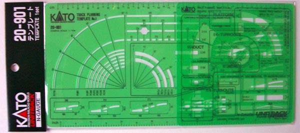 Track Template Unitrack Kato 20901 – Kato Model Train Engine Diagram