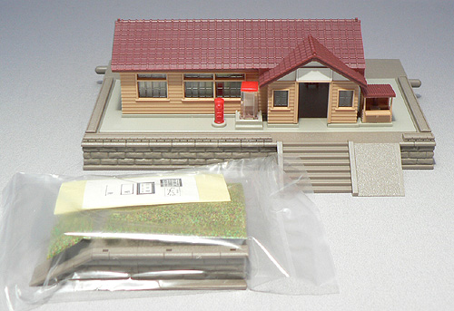 TOMIX N gauge wooden station building set 4002 Hobbies Buildings ...