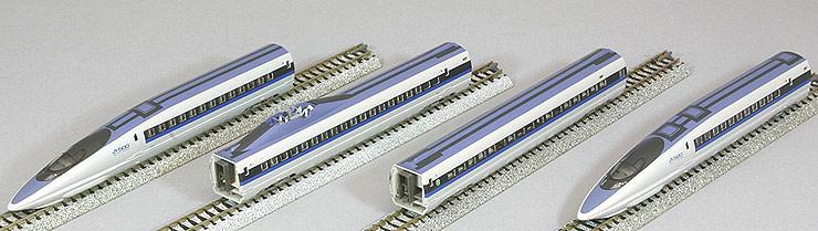 KATO N gauge starter set 500 series Shinkansen Nozomi 10-003 railway model